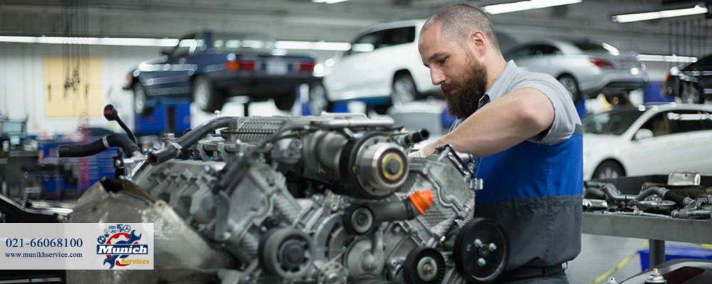 تعمیرات موتوری بنز