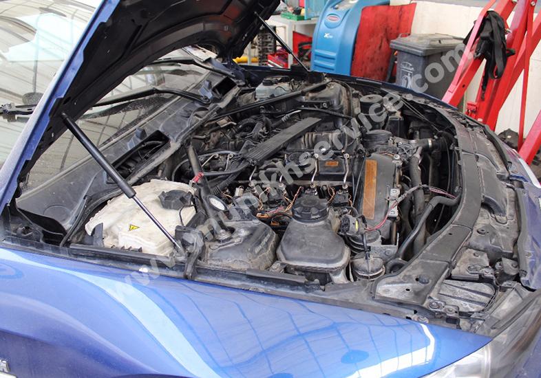 تعمیر پمپ بنزین BMW335