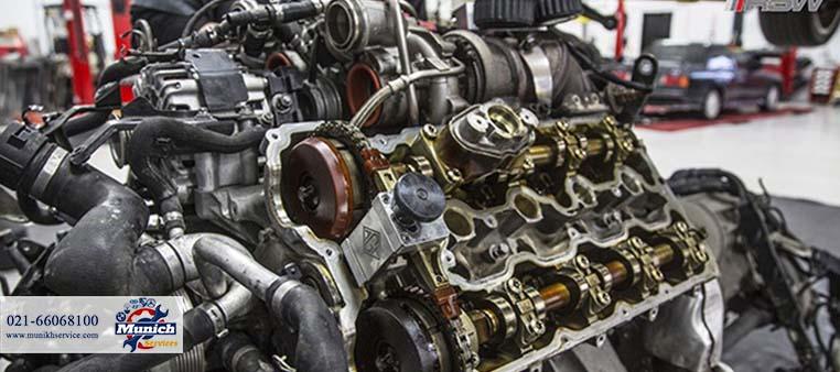 تعمیر موتور بی ام و به صورت تخصصی