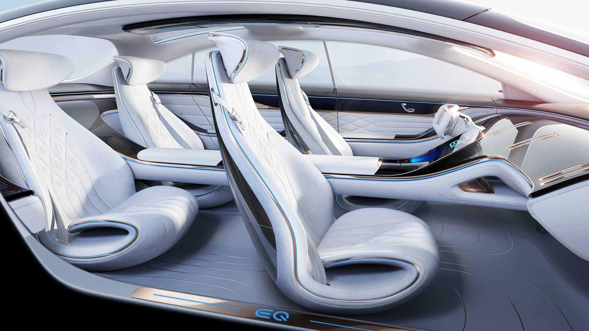 مرسدس بنز ، خودرویی از آینده-فضای داخلی بنز