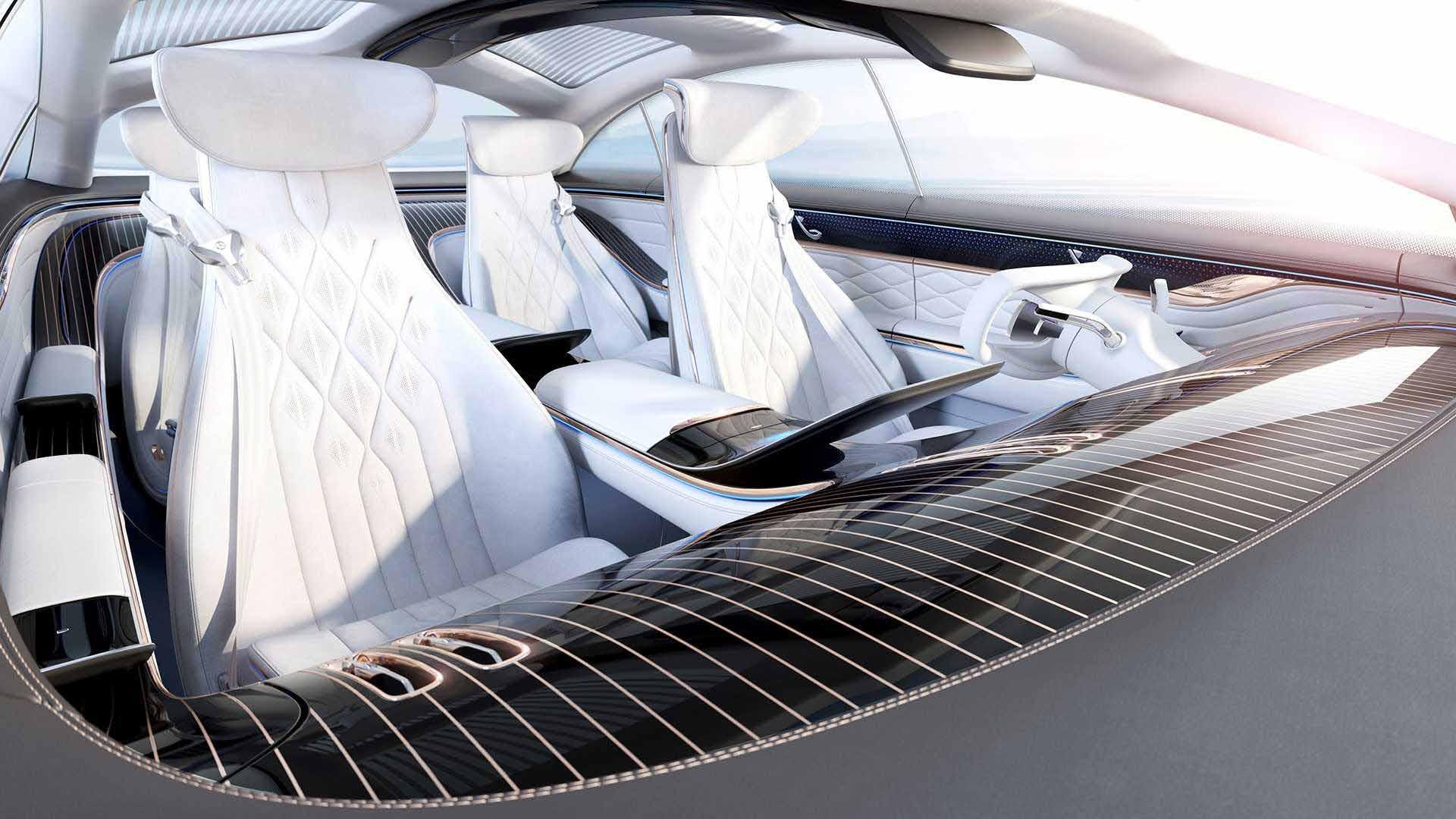 مرسدس بنز ، خودرویی از آینده-فضای داخلی