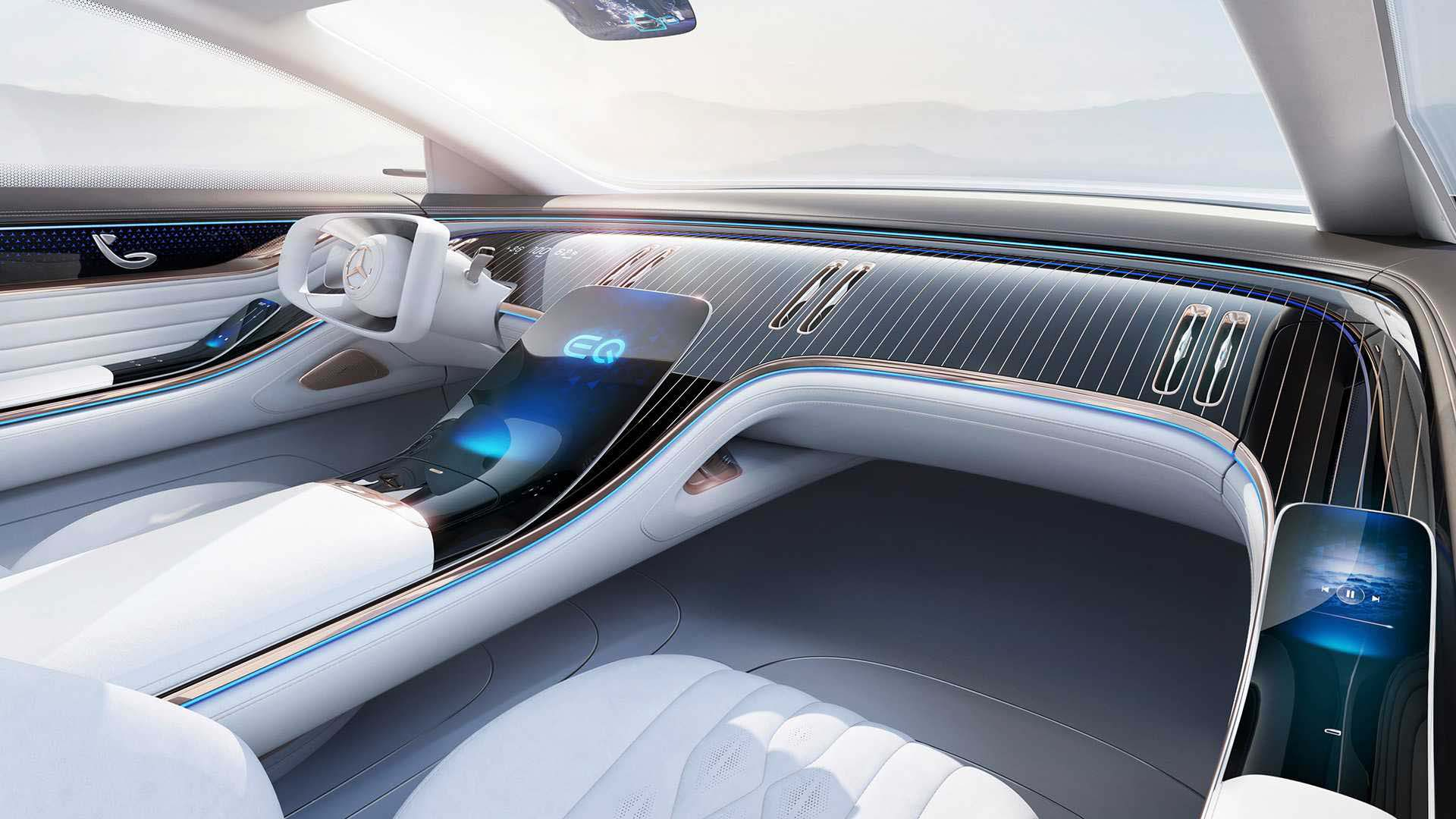 مرسدس بنز ، خودرویی از آینده-ویژگی های داخلی
