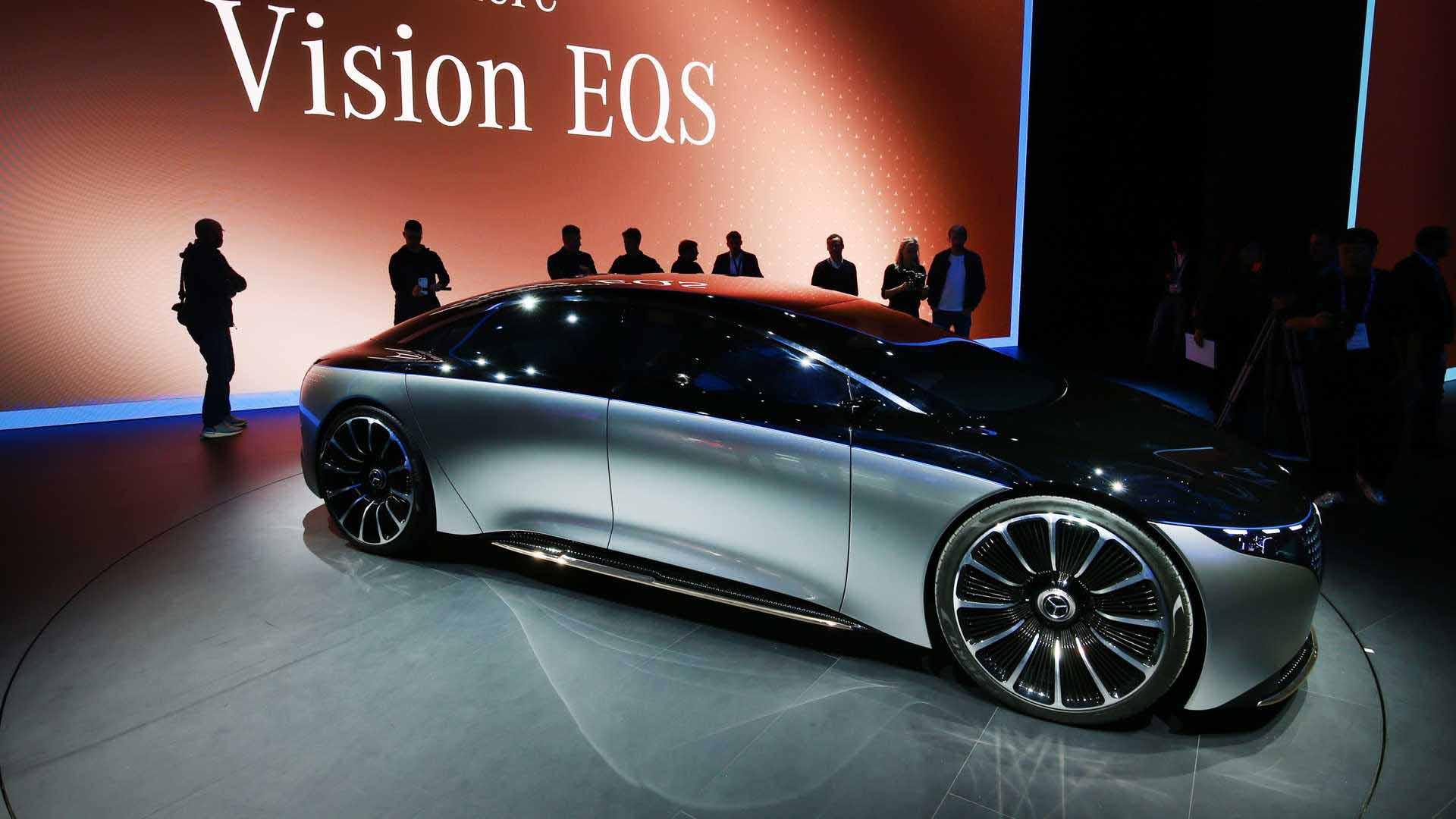 مرسدس بنز ، خودرویی از آینده۲۰۱۹-مونیخ سرویس