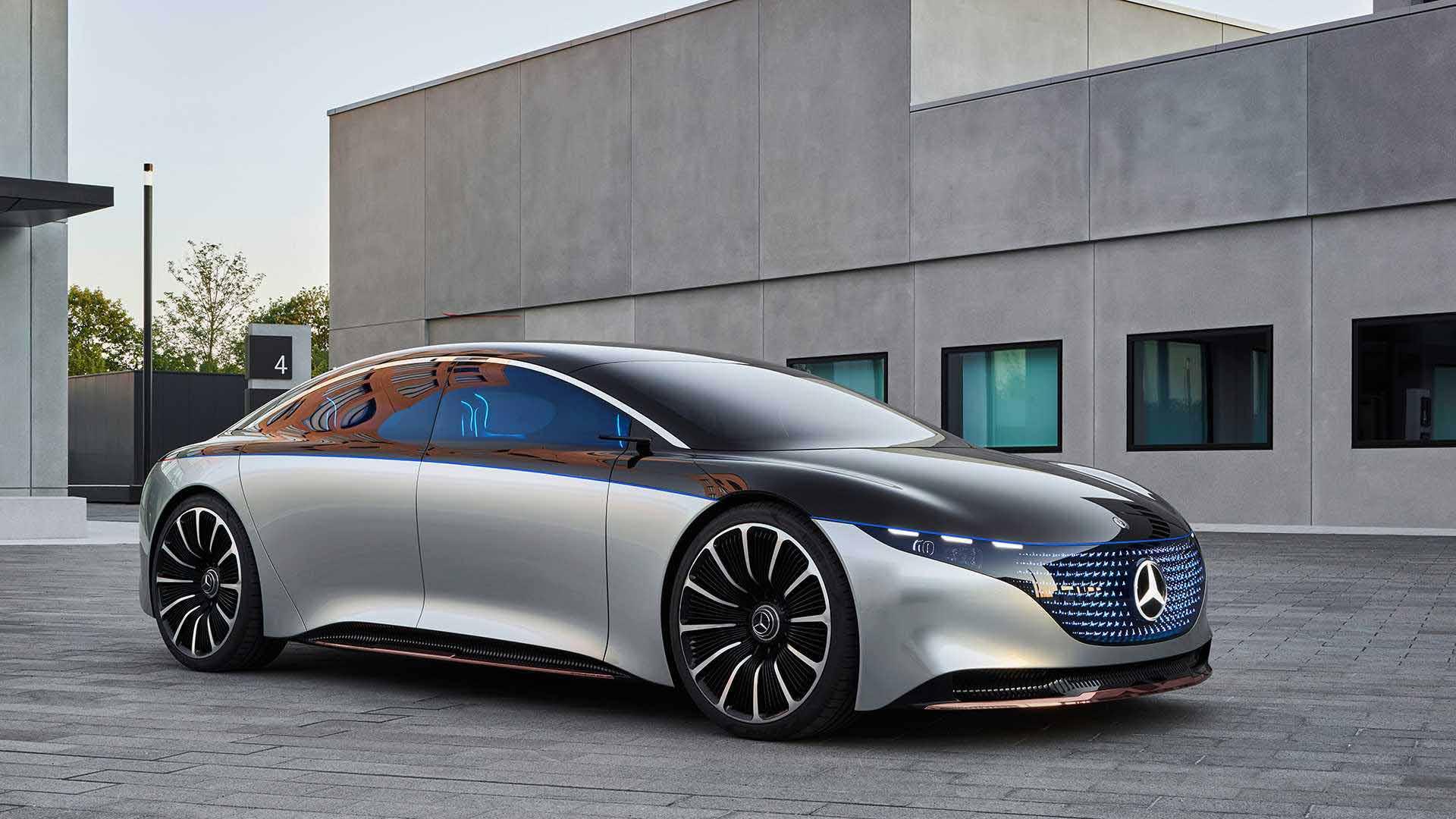 مرسدس بنز خودرویی از آینده