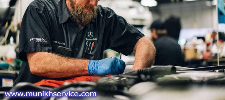 خدمات تخصصی در تعمیرگاه بنز تخصصی-مونیخ سرویس ۰۲۱۶۶۰۶۸۱۰۰