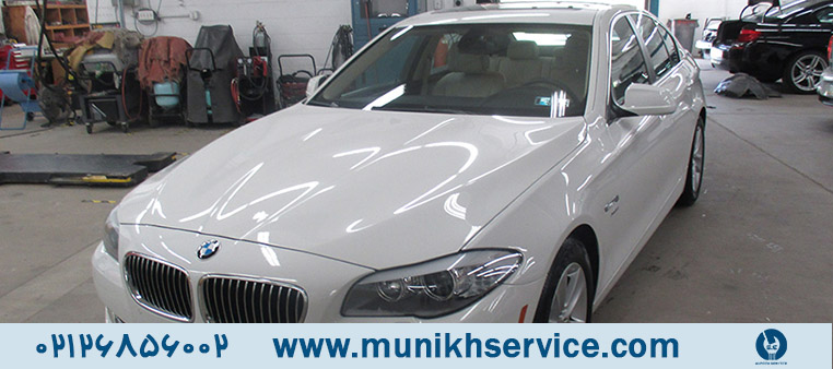 تعمیرگاه تخصصی برای بی ام و تعمیرگاه BMW مونیخ سرویس